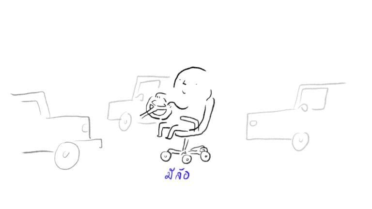 interior design office wheel working chair